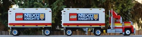 Lego Volvo Truck Nexo Knights