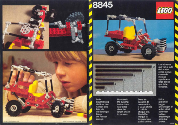 Lego 8845 Review