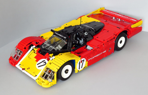 Lego Technic Porsche 962C