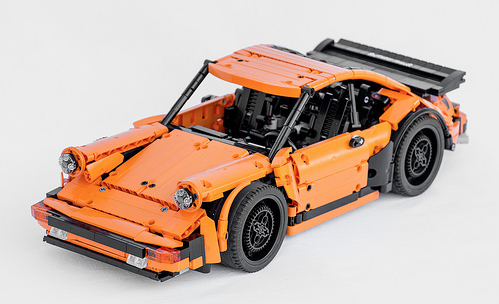 lego technic porsche 911 turbo the lego car blog. Black Bedroom Furniture Sets. Home Design Ideas