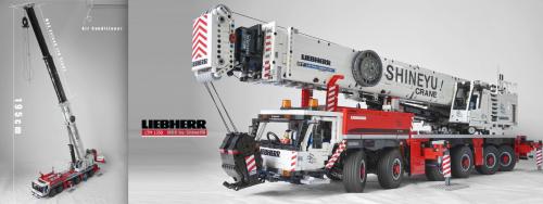 Lego remote Control Liebherr Mobile Crane