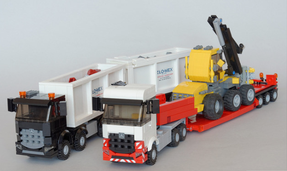 Lego mercedes benz arocs trucks the lego car blog for Lego mercedes benz