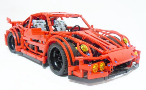 lego technic porsche 911 the lego car blog. Black Bedroom Furniture Sets. Home Design Ideas