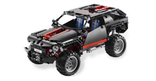 Lego 8081 Extreme Cruiser