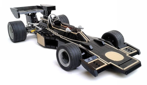 Lego Lotus Ford 72D JPS