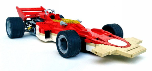 Lego Lotus Ford 72C Gold Leaf
