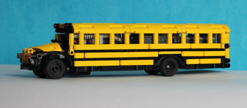 Lego Technic RC American School Bus
