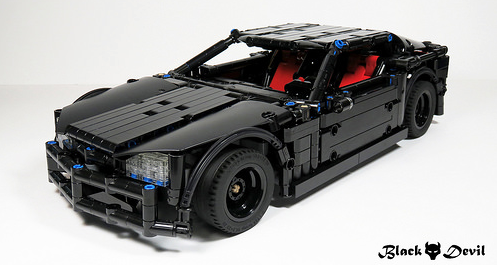 Lego Technic RC Supercar