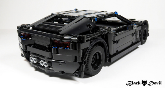 lego technic corvette c7 the lego car blog. Black Bedroom Furniture Sets. Home Design Ideas