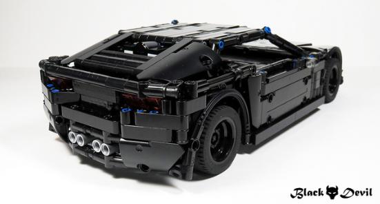 lego technic corvette c7 the lego car blog. Black Bedroom Furniture Sets. Home Design Ideas