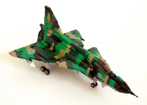 Lego Saab JA37 Viggen