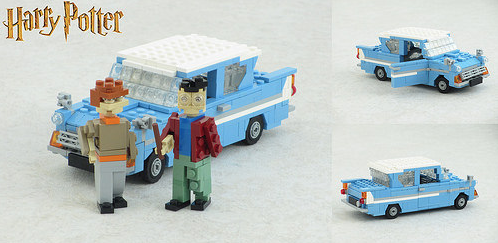 Lego Ford Anglia Harry Potter