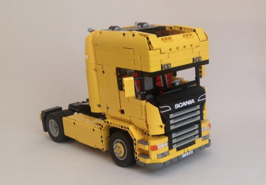 Sunshine Scania The Lego Car Blog