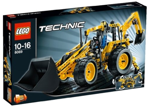 Lego Technic 8069 Backhoe Review
