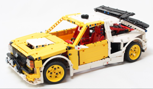 Lego Technic Group B Rally Car