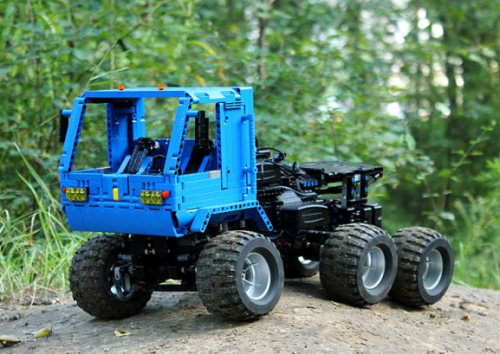 Lego Technic RC Truck Trial