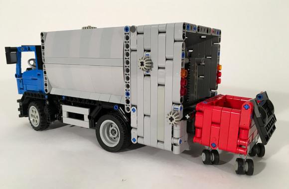 Lego Technic Volvo Garbage Truck