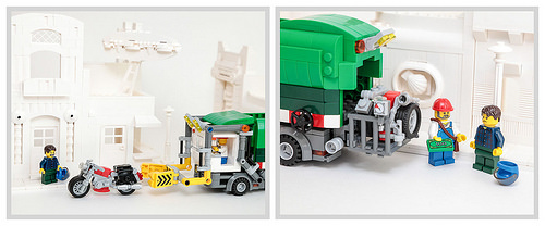 Lego Car Crusher