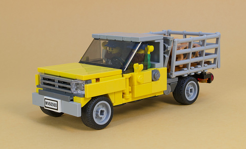 Lego Farm Pick-Up Truck
