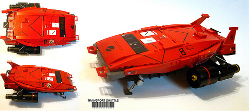 Lego Sci-Fi Transport Shuttle