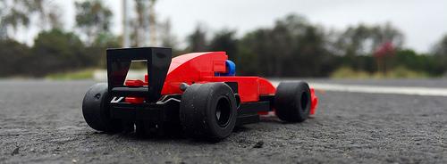 Lego Racing Car Micro-scale