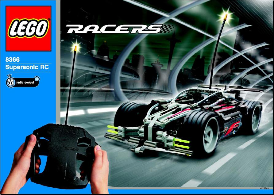 Lego Racers 8366 Supersonic Rc Review The Lego Car Blog