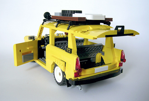 Lego Trabant 601 Estate