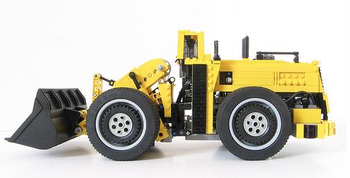Lego Remote Control Earth Mover