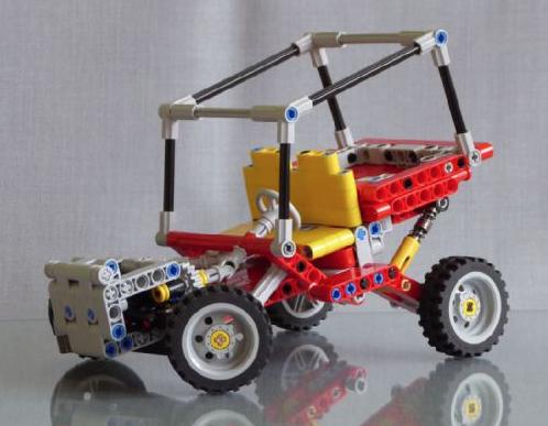Lego Technic 8845 Redux