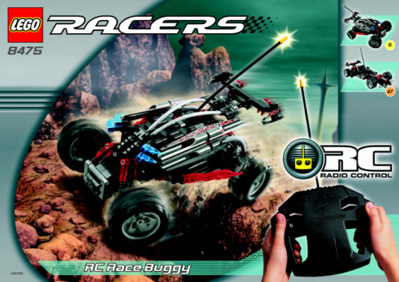 Lego Racers 8475 Review