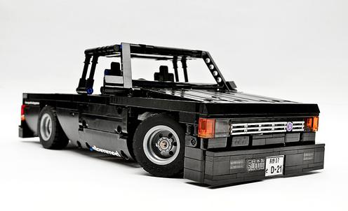 Lego Technic Nissan D21 Remote Control