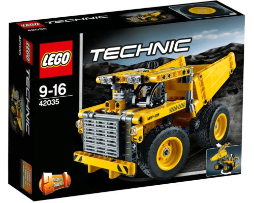Lego Technic 42035 Mining Truck Review