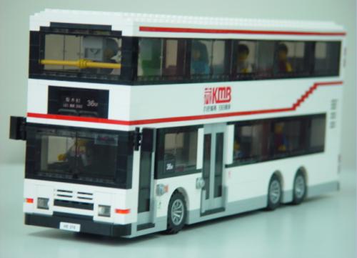 Lego Volvo Olympian Bus