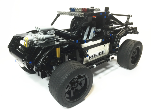 Lego Technic Trophy Truck Police