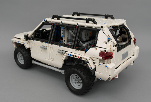 Lego Remote Control Toyota Land Cruiser Prado 4x4