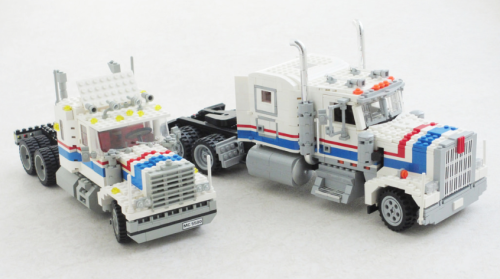 Lego Model Team 5580 Highway Rig