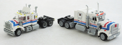 Lego Kenworth W900 Highway Rig