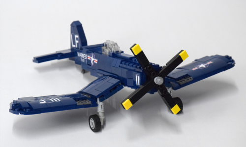 Lego Vought F4U4 Corsair