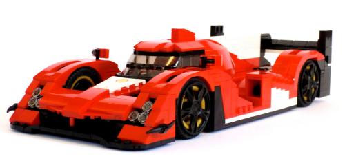 Lego Ferrari LMP1