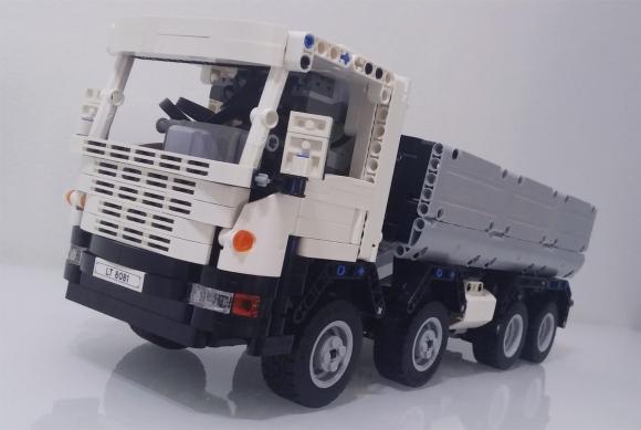 Lego Technic Scania 8x8 Truck