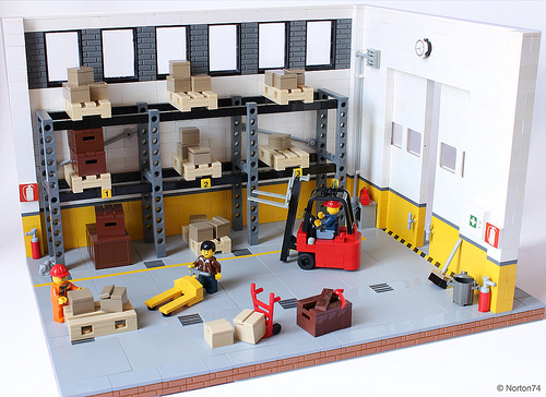 Lego Warehouse