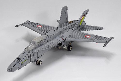 Lego McDonnell-Douglas F-18C Hornet