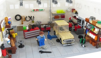 Vintage Garage The Lego Car Blog