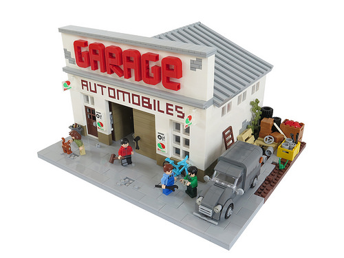 Gallic Garage The Lego Car Blog