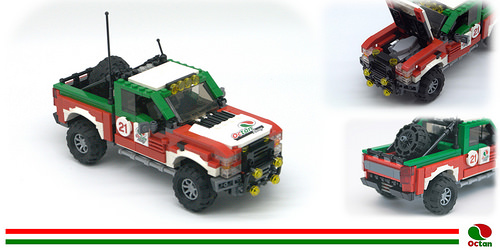 lego ford truck instructions