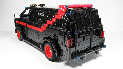 Lego A-Team GMC Vandura