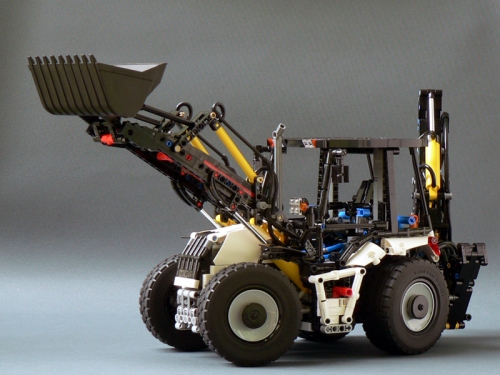 Lego Technic Backhoe Pneumatic