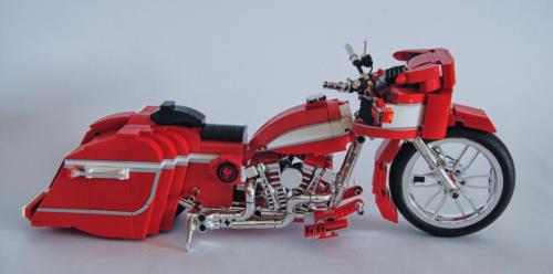 Lego Harley Davidson Bagger