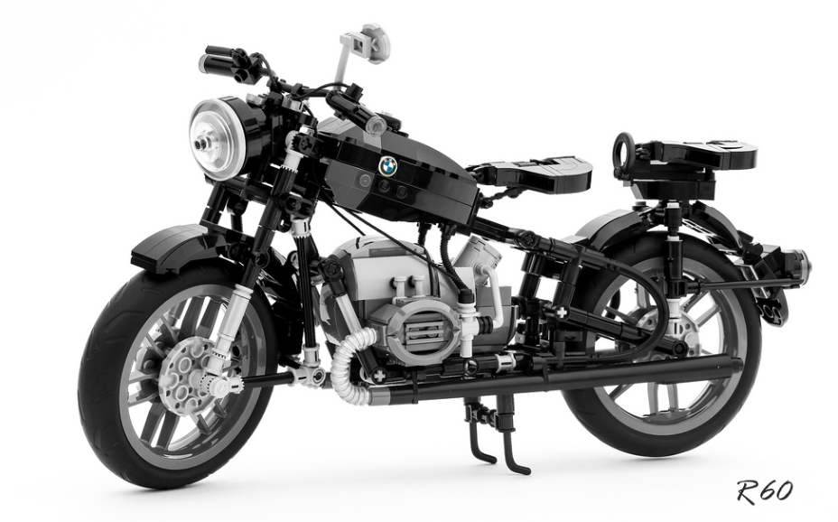 lego bmw r60 motorcycle the lego car blog. Black Bedroom Furniture Sets. Home Design Ideas