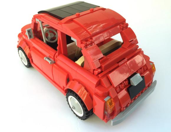 Lego Fiat 500 F